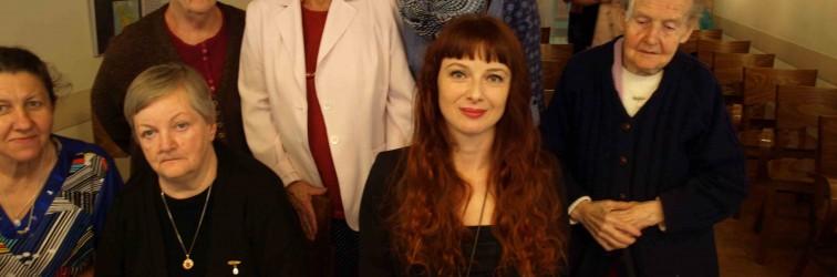 11.09.2014 – recital Anny Hameli w Domu Pomocy Społecznej im. Jana Pawła II