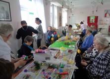 Świąteczne zajęcia z uczestnikami ŚDS z ul. Orzeszkowej
