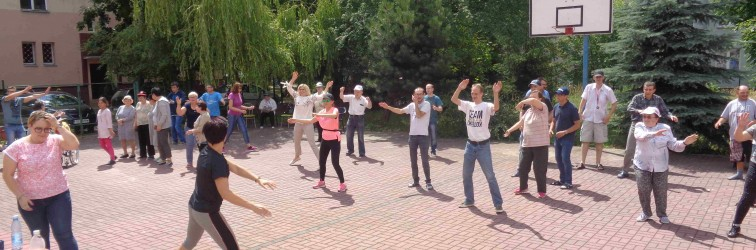 18.07.2019 Festyn w ŚDS przy ul. Miodowej